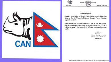 Photo of क्यानद्वारा महिला खेलाडीलाई कोरोना विमा