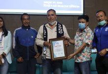 Photo of राखेप सदस्य कुँवरलाई एनआरएनको बधाइ