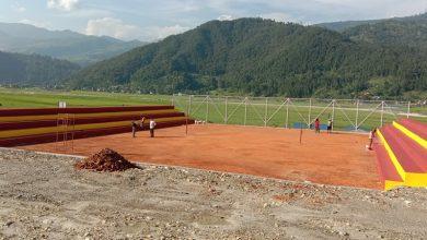 Photo of पोखरा २३ वाम्दीको नमुना भलिवल खेल मैदान उद्घाटनको पखाईमा