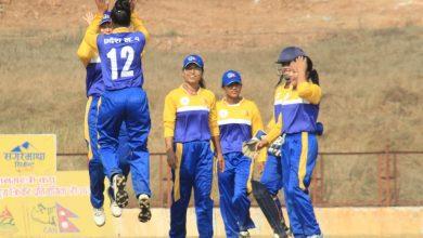Photo of महिला क्रिकेटमा प्रदेश १ को लगातार दोस्रो जित