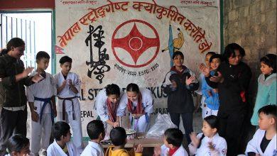Photo of खेलाडीहरु जन्म दिन मनाउँदै