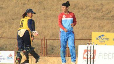 Photo of गण्डकी प्रदेशको महिला क्रिकेटमा दोस्रो हार, प्रतियोगिताबाट बाहिरियो