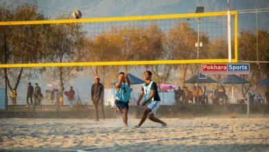 Photo of नेपाल हवाई खेलकुदलाई विच भलिवलको उपाधी