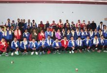 Photo of पोखरामा प्रशिक्षणमा रहेका फुटबल, आर्चरी र भारोत्तोलनका खेलाडीहरुलाई स्वागत