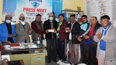 Photo of अरुणालाई जिताउन भूतपूर्व खेलाडी मञ्चद्वारा सहयोग