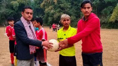 Photo of दमौलीमा 'अन्डर १४ फुटबल फेस्टिबल शुरु'