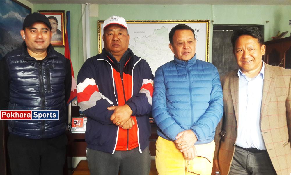 """Photo of """"पूर्वाधार समयमा पुरा नहुँदा एफसी महिला छनोट खेलमा शंका""""–एन्फा अध्यक्ष शेर्पा"""