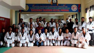 Photo of पोखरामा तेक्वान्दो प्रशिक्षकका लागि पुर्नताजगी तालिम सम्पन्न