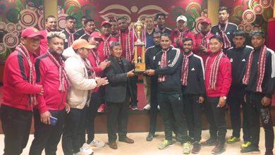 Photo of मुख्यमन्त्री गुरुङले दिए टाइगर कप उपाधि विजेता गण्डकीको भलिवल टोलीलाई बधाई