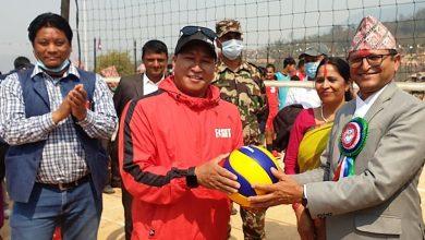 Photo of राष्ट्रिय सभा अध्यक्ष कप भलिबलमा उपाधिका लागि पर्वत र बागलुङ भिड्ने