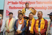 Photo of इन्डो–नेपाल तेक्वान्दोमा भारतका सरोजलाई दोहोरो स्वर्ण