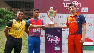 Photo of त्रिदेशीय टी–२० क्रिकेट सिरिज : नेपाललाई घेरलु मैदानमा उपाधि
