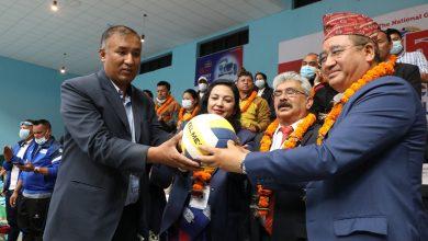 Photo of पाँचौ आरबिबि क्लब लिग भलिबल प्रतियोगिता काठमाडौमा सुरु, पुलिस र एपिएफको बिजयी सुरुवात