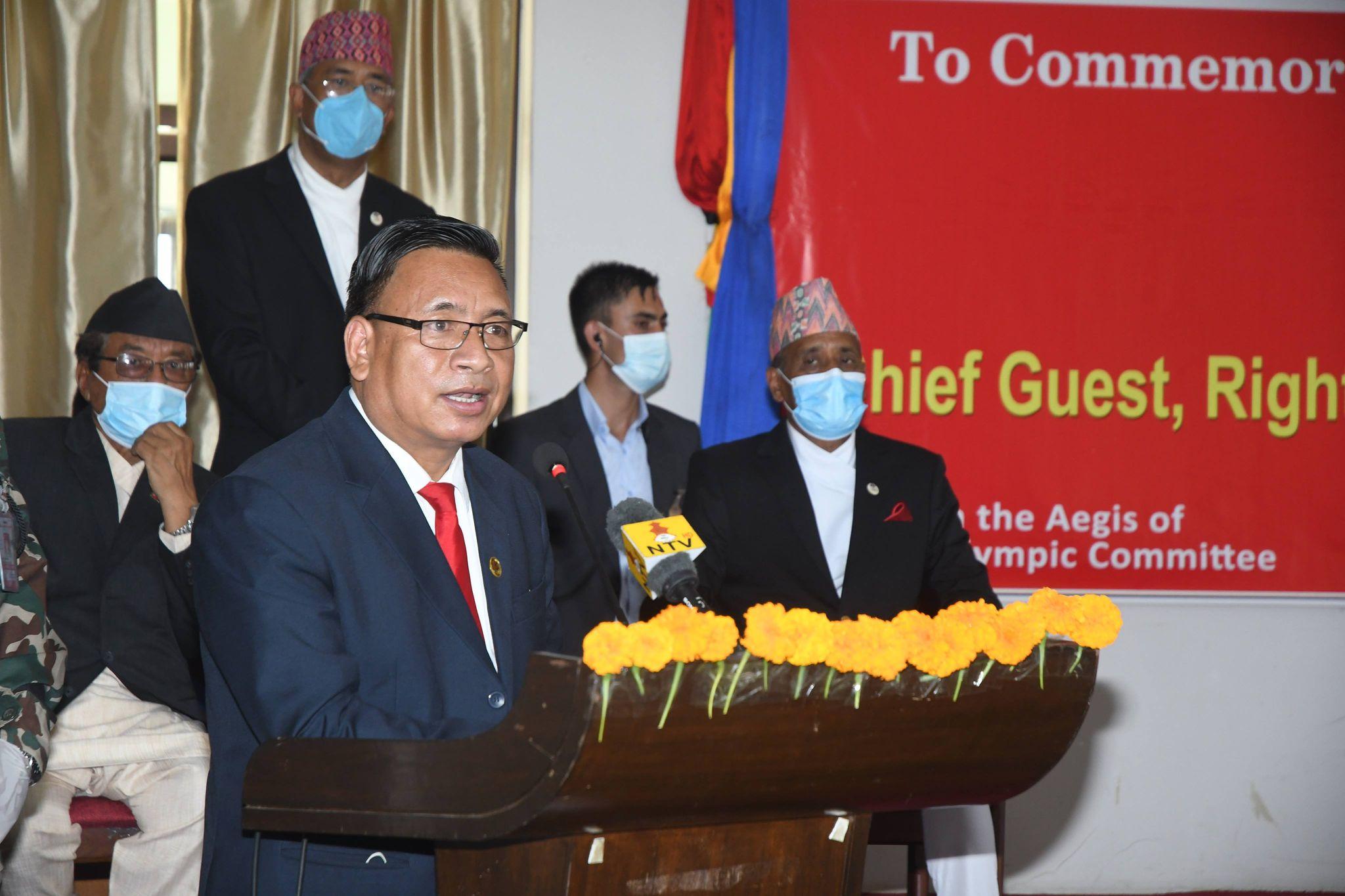 Photo of ओलम्पिक्समा पदक लक्ष्य हुनु पर्छ : उपराष्ट्रपति पुन