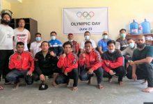 Photo of पोखरा रंगशालामा खेलाडीहरुले मनाए 'ओलम्पिक डे'