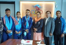 Photo of NOC bids farewell to the Judo team