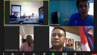 Photo of नेपालका चार वटै म्याराथन आयोजक एकै ठाउँमा, सहकार्यका रुपमा सञ्चालन गर्ने सहमती